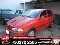 Fiat Palio 1.0 edx vermelho 8v gasolina 4p manual 1997 - 1997
