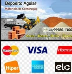 Areia Limpa 5mts R$180,00
