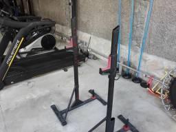 Suporte ajustável para Musculação