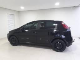 Punto - Fiat - 2007/2008 - Preto - 2007