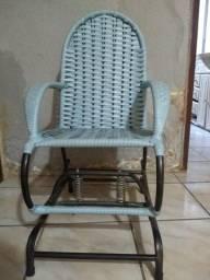 Cadeira fibra infantil balanço