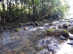 Terreno medindo 17 mil metros passando rio dentro e córrego