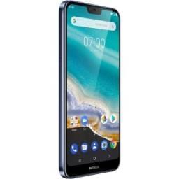 "Smartphone Nokia 7.1 TA-1085 Dual Sim LTE 5.8"" FHD 4GB/64GB Azul"