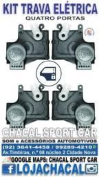 .Kit Trava Elétrica (04 Portas) Originais Pálio/Siena; Celta/Prisma; Fiesta/Ecosport