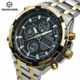 Relógio Golden Hour Novo analógico/digital e outros modelos