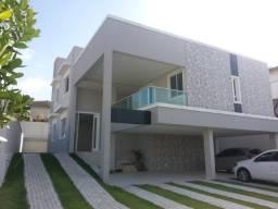 CA1414 Condomínio Alphaville Eusébio, casa duplex nova, 5 suítes, 10 vagas, lazer completo