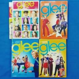 Box DVD Glee - 1 a 4 temporada + brinde