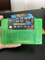 Fita Super Nintendo 49 Jogos Salvando nova
