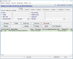 Oferta para micro empreendedor sistema oficina mecanica p/ computador