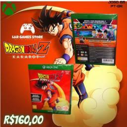 Jogo para Xbox One Dragon Ball Z KAKAROT Novo a Pronta Entrega