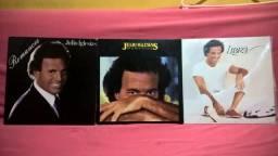 Discos de Vinil Julio Iglesias 3 álbuns