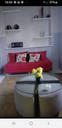 Apartamento 1/4 sala mobiliado na  Barra em frente a Perini