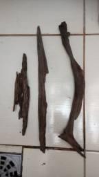 Tronco/raiz árvore natural Aquário