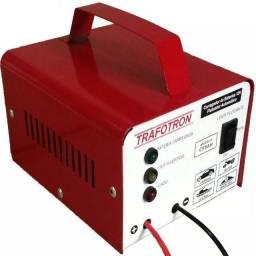 Carregador de Bateria Carro Moto 12v 5Ah Ate 300 Amperes