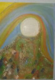 Quadro pintura a óleo