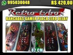 Controle arcade duplo pc ps3 etc