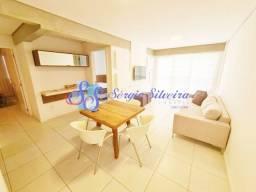 Apartamento à venda no Porto das Dunas com 2 suítes mobiliado e nascente