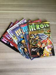 Revista Heróis do Futuro - #9, 10, 11, 12, 13 e 34
