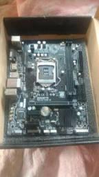Placa mãe Gigabyte Ga - H110m-h DDR4 Lga 1151 7 Geração