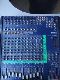 YAMAHA MG166C Mesa de som analógica