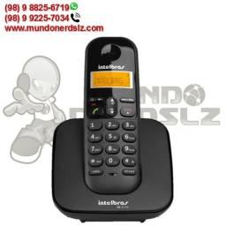 Telefone sem Fio Preto Com Display Luminoso Intelbras TS 3110 em São Luís Ma