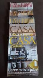 """Vendo coleções de revistas """"Casa e Jardim """""""