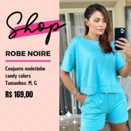 Conjunto moletinho - Robe Noire