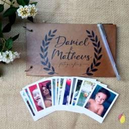 Álbum de fotos Personalizado com frete grátis + 18 fotos