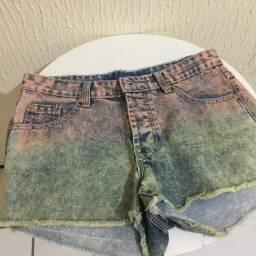 Short jeans Dmetal tie dye 36