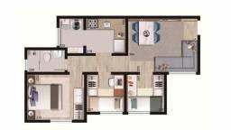 V/Apto três dormitórios  pronto para morar em Colombo