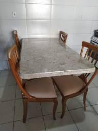 Mesa de marmore Bege bahia