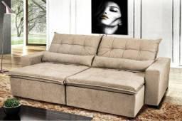 Sofá Retrátil e Reclinável Rubi 2,4M