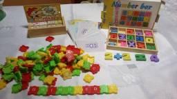 Pacote de Brinquedos Pedagógicos