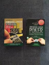 2 Livros - Aprendendo a jogar Poker e Dominando a Arte do Poker