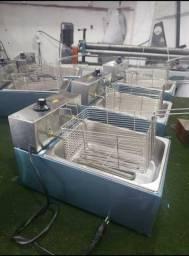 Fritadeiras profissionais direto da fábrica.