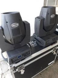 equipamentos de som e iluminação