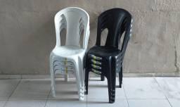 Cadeiras de plástico até 152 kilos