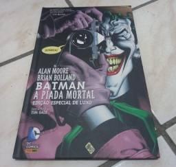 HQ Batman - Piada Mortal (Praticamente novo)