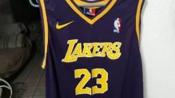 Camisa Lakers roxa (GG)