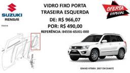 Vidro Fixo Porta Traseira Esquerda Suzuki Grand Vitara (Original)