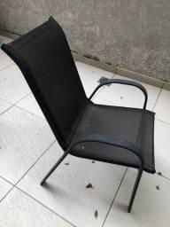Cadeira De Alumínio E Tela Sling - 1 Unidade