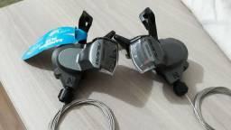 Peça de bicicleta trocadores de marchas Shimano alívio 3x9 27v