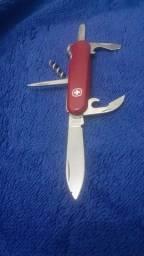 Canivete Suíço Victorinox Spartan vermelho 12 funções Original.