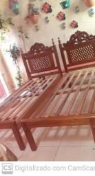 2 Cama solteiro madeira