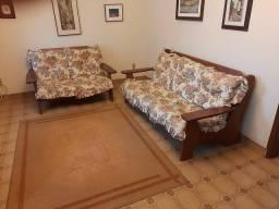Sofa colonial em mogno