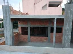 Casa em construção no bairro São João S.P.A