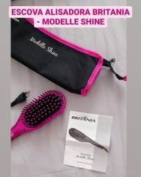 Escova Alisadora Britânia - Modelle Shine