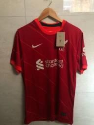 Camisetas Liverpool Barcelona Borússia e Nigéria