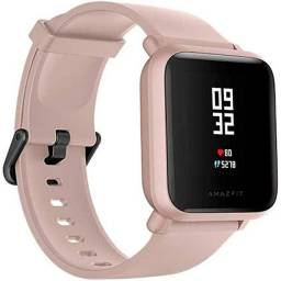Smartwatch Amazfit Bip S Lite Pink Rosa - A1823 - Versão Global - Novo - Original<br>