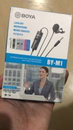 Microfone de Lapela Boya BY-M1 original